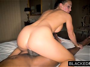 BLACKEDRAW Abigail Mac's husband Sets Her Up With biggest bbc In The World