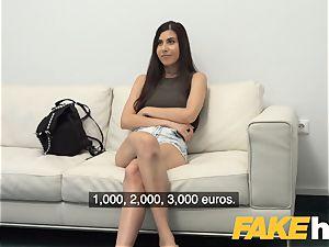 fake Agent deep-throating babe Anya Krey loves it firm