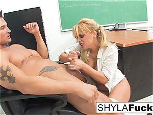 student Shyla Gets smashed