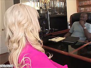 Bridgette B - My fresh Latina secretary in tights