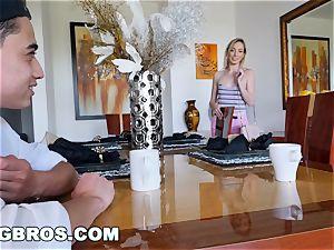 BANGBROS - cougar Chanel Preston humps daughters boyfriend