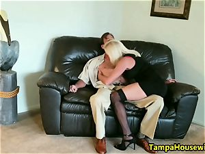 The Incall Series with wild blonde