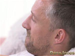 Dane Jones rough pulverize for fellating polish towheaded