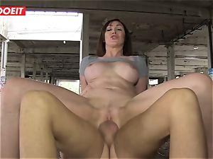 LETSDOEIT - super hot duo Caught In An deserted mansion