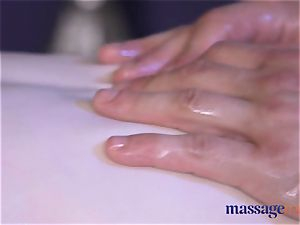 massage apartments sandy-haired nubile has her slit fuck hole pummeled