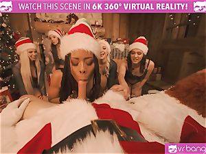 VRBangers Christams hump With Eight fabulous Elves
