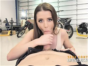 trio buxomy hotties do anything for the rich boy point of view