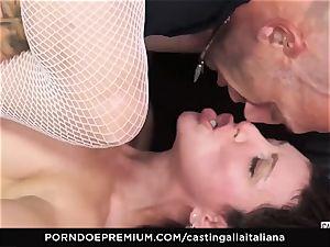 audition ALLA ITALIANA - new-comer assfuck gape and nail