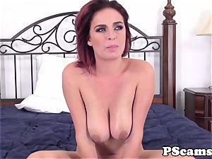 sandy-haired webcam honey Ashlee Graham cockriding