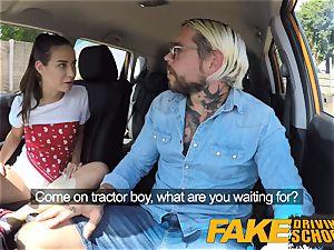 fake Driving school cool wild learners secretly plumb