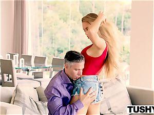TUSHY Nicole Aniston first-ever buttfuck, massive gapes!