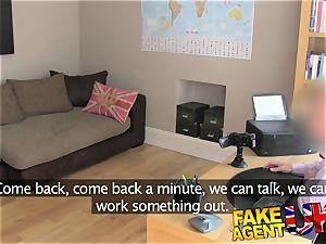 FakeAgentUK faux audition backfires