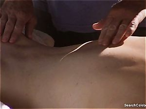mind-blowing Mimi Rogers gets her entire body caressed