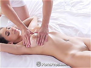 PornPros - Latina Nina North ample oily mammories ravage