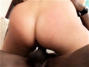 Samantha Saint bi-racial 4some