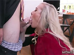 Mature mummy very first time Halloween exclusive With A threesome