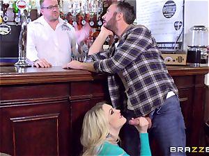 british light-haired hotty Tamara mercy railing Keiran Lee