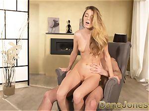 Dane Jones Pretty youthful Russian gal takes a ginormous spunk-pump