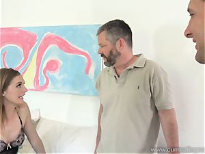 Mona Wales Turns Her husband Into flawless penis cockblower