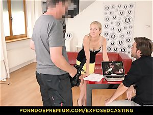 unveiled casting - bootylicious honey orgy prowess test in casting