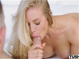 nice pornstar Nicole Aniston gets butt-banged for the very first time