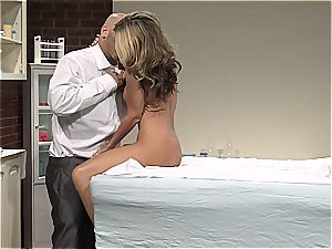Kristal Summers gets a thorough exam