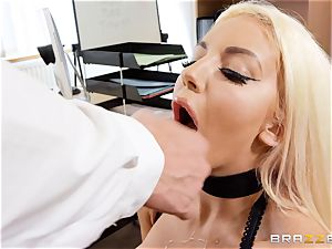 Nicolette Shea gets her concentration explored in this super-hot interview