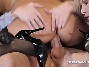 private - blondie and brunette flawless for buttfuck 3 way