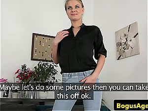 blond prefers to be doggystyled firm and that's what she gets during audition