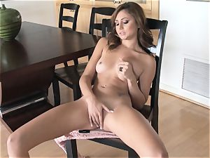 delicious Ariana Marie softcore solo getting off