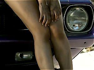 ass princess Valentina Nappi taunting you under the uber-sexy sun