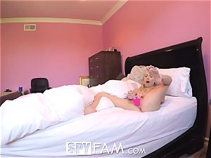 SpyFam Step daughter-in-law Piper Perri penetrate and internal ejaculation