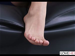 super hot sole lovemaking With My Sisters cuckold beau