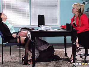 Krissy Lynn suffers her toughest interview