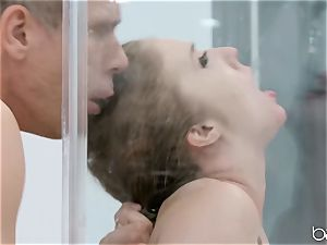 Lena Paul douche penetrate with hunky German Mick Blue