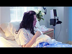 GIRLCORE girly-girl Nurses Give teenage Patient Vaginal examination