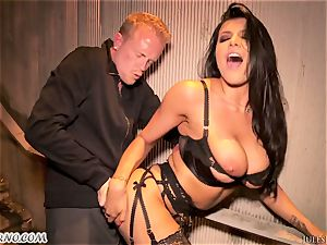Romi Rain - outstanding torrid first-timer porno in the street