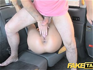 fake taxi meaty congenital milk cans on blondie model