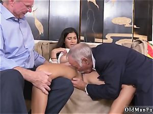 two elderly and blondie nymph smash first time Going South Of The Border