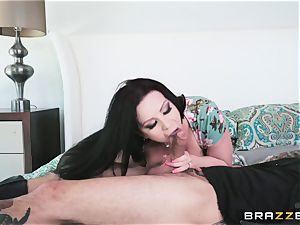 Sheridon love nailed in her cock-squeezing minge fuck-hole