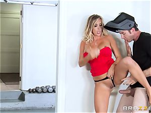 scorching wifey Samantha Saint ravages her spouses bro