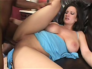 Randy Stephanie Wylde gets her moist muff pummelled