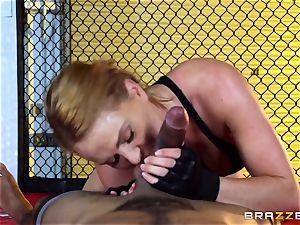Krissy Lynn gets bi-racial humping in the ring