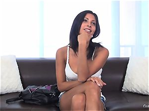 Jade Jantzen humping like a professional at her casting