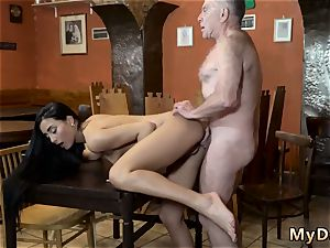 elderly and youthful bust dad spanks then screws hardcore Can you trust your girlfriend leaving her alone