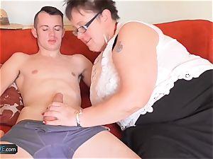 AgedLove humungous mature stunner hard-core with Sam Bourne